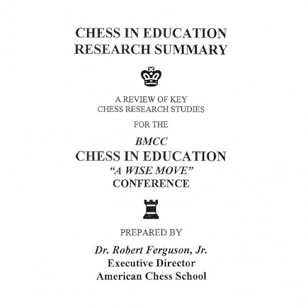 Chess in Education- Research Summary, page 1