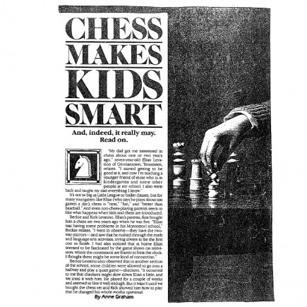 Chess Makes Kids Smart, page 1