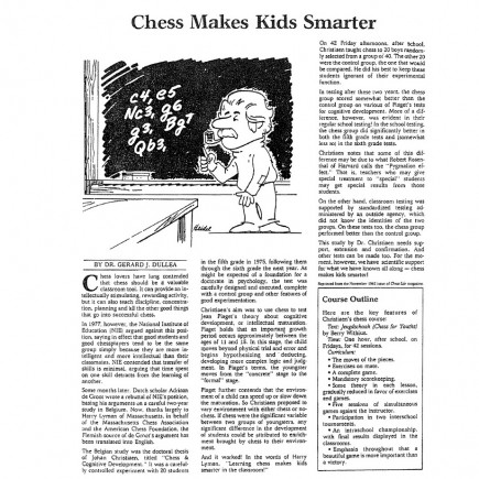 Chess Makes Kids Smarter